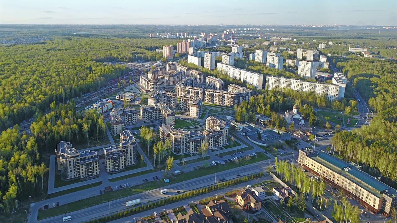 Квартиры Новостройка Микрорайон ЖК Солнечный находится в Троицке Новая Москва инфраструктура