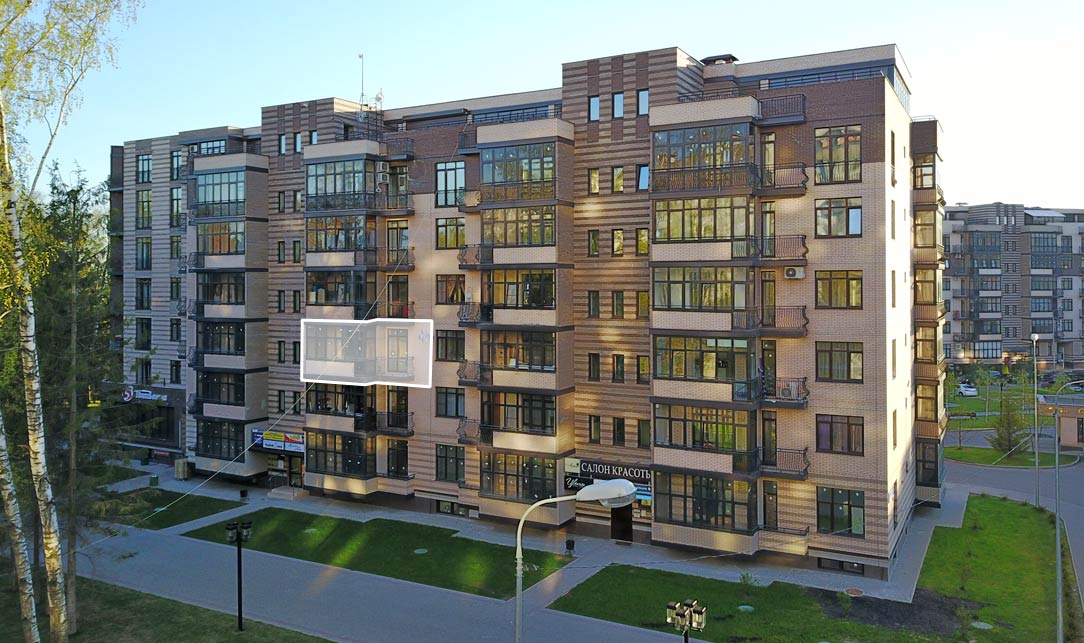 Микрорайон ЖК Солнечный, Троицкий бульвар, дом 7, квартира 29, вид
