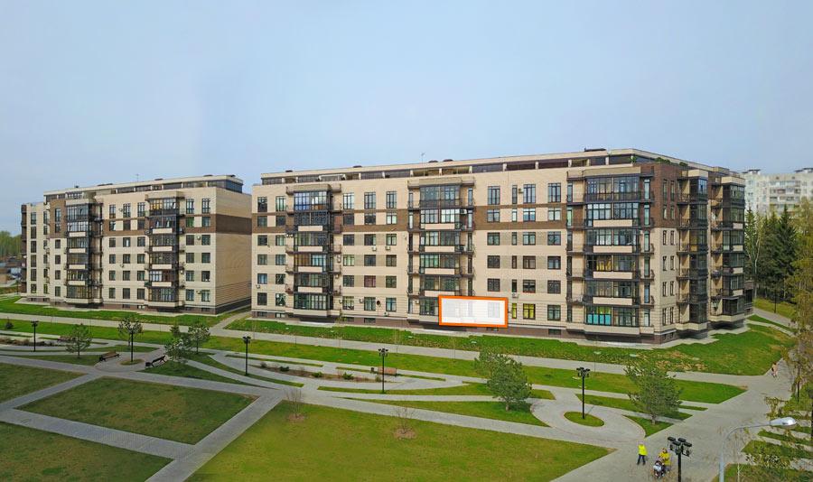 Микрорайон ЖК Солнечный, Троицкий бульвар, дом 7, квартира 86, вид со стороны Троицкого бульвара