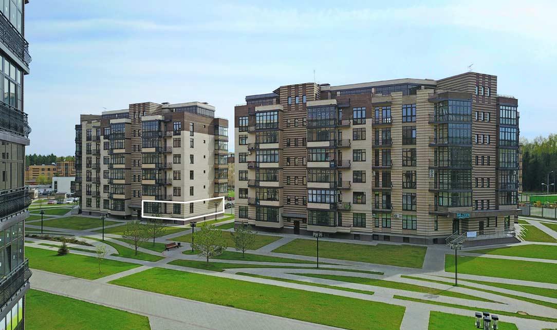 Вид квартиры со стороны Троицкого бульвара