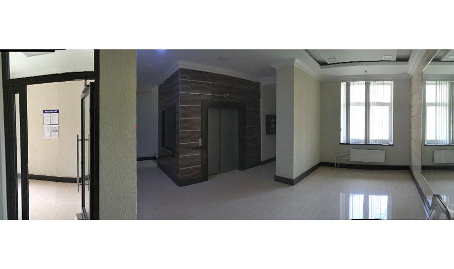 Микрорайон ЖК Солнечный, Троицкий бульвар, дом 5, квартира 124, вид парадной