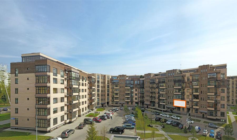 Микрорайон ЖК Солнечный, Троицкий бульвар, дом 7, квартира 89, вид со стороны двора