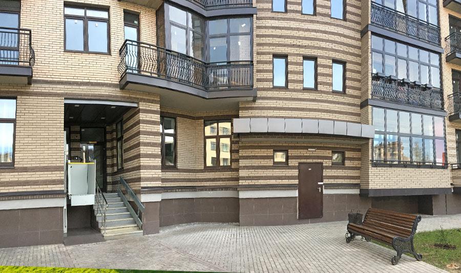 Микрорайон ЖК Солнечный, Троицкий бульвар, дом 7, квартира 67, подъезд